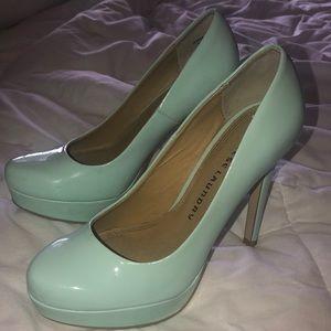 6.5 tiffany blue heels